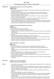 Referee In Resume Volleyball Resume Samples Velvet Jobs 93