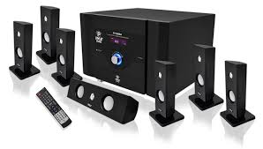 wireless home sound system. pyle pt798sba 7.1 channel home theater system with satellite speakers wireless sound b