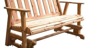 porch bench glider interior and home enchanting made 4 ft unfinished cedar traditional porch outdoor bench porch bench glider