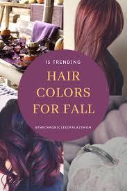 15 Trending Hair Colors For Fall