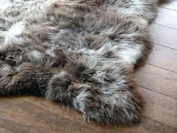 animal fur rugs large fur rug skin rugs soft faux fur bedroom fake animal s large