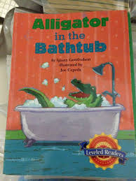 Alligator in the Bathtub Book - from Sort It Apps