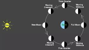 Image result for phases of moon