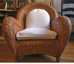 2 Pottery Barn Wicker Chair Pottery Rattan T48