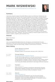 Picture Researcher Sample Resume Research Scientist Resume Samples VisualCV Database shalomhouseus 10