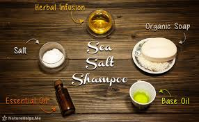 hair loss treatment how to make sea salt shampoo