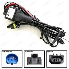 hid conversion kit bi xenon relay wiring harness for h h  bi xenon hid conversion kit relay harness