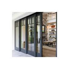 architect series traditional wood multi slide and lift and slide patio door