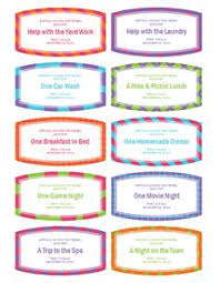 microsoft word birthday coupon template good deed coupon book printables coupons bible verse crafts and