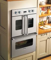 The French-Door Electric Oven's side swinging doors make reaching your  latest recipe a piece