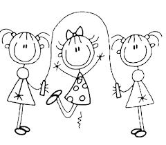 Disegni Da Colorare Di Bambini Che Giocano Insieme Fredrotgans