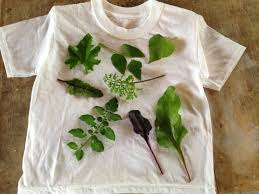 2 arrange leaves as desired on the shirt front place another sheet of wax paper on top of the leaves if you wish leaves may be taped into position with