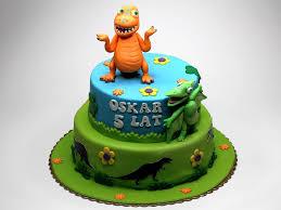 3d Dinosaur Birthday Cake Wedding Academy Creative Easy Dinosaur