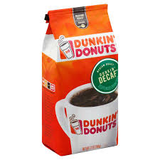 Again, if you have health problems and can't have caffeine, do not drink dunkin' decaf iced. Dunkin Donuts Dunkin Decaf Medium Roast Ground Coffee Shop Coffee At H E B