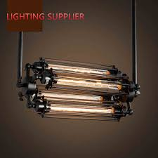 steampunk lighting. Loft Iron Pendant Light 4 Edison Bulbs. Nightclub Industrial Steampunk Metal Punk Lamp Vintage Retro Deco Lighting Fixture-in Lights From