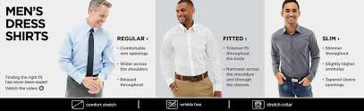 Jcpenney Dress Shirt Size Chart Mens Dress Shirts And Ties Mens Suit Separates Jcp