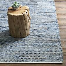 recycled denim jute rug from west elm cotton rugs ikea canada