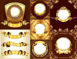 gold frame border vector. Perfect Gold Gold Ornate Decorative Border Vector Material Inside Frame Border Vector F