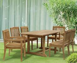 6 seater garden dining set