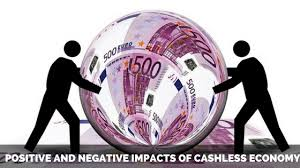 essay on positive and negative impacts of cashless economy short essay on positive and negative impacts of cashless economy