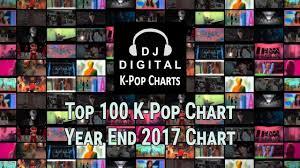 Top 200 Year End K Pop Chart 2017