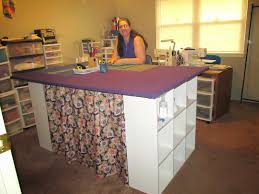 Ann's Quilt N' Stuff: My new 4 x 6 foot cutting table / ironing ... & Pete and I took a trip over to Lowe's hardware here in Broken Arrow,  Oklahoma where we live. We picked up a few items. One of them being  three-quarter inch ... Adamdwight.com