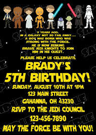 Scroll Birthday Invitations Star Wars Scroll Birthday Party Starwars Party Star Wars Party