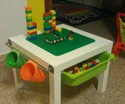For the ikea lack lego table with built in storage, you will need: Ikea Lego Table 7 Steps With Pictures Instructables