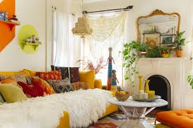 Unique Living Room Furniture Sets Living Room Colorful Bohemian Living Room Design With Nice
