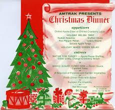 christmas dinner poster christmas on the rails amtrak history of americas railroad