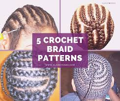 Crochet Twist Braid Pattern Mesmerizing Crochet Twist Pattern 48 Crochet Braid Patterns To Help You Slay Your