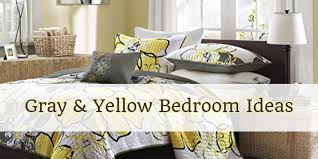 gray and yellow bedroom ideas yellow
