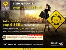 promotions krungsri credit cards