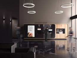 Premium Gourmet Coffee Vending Machine Enchanting Button Gourmet By Mormedi Is The Vending Machine For Those With A