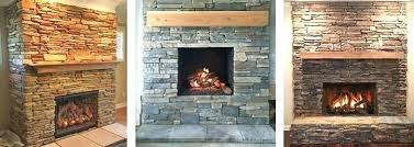 refacing a brick fireplace with stone veneer refacing fireplace with stone brick and stone fireplace stone