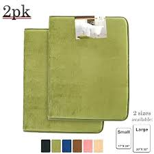 green bath rugs memory foam 2 pack sage mat and shower dark bathroom colored g