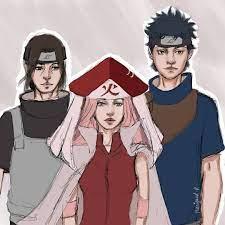 Itachi and Shisui being Sakura left and right arms (advisors) C | Sarada  uchiha, Casal anime, Naruto