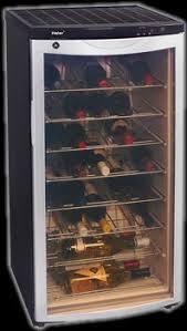 haier wine fridge. wine refrigerator 42 bottle capacity haier fridge e
