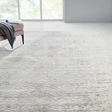 foil diamonds distressed rug