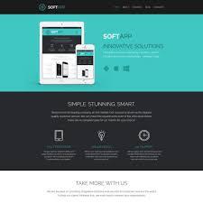 web template design software. 51 Best Software Website Templates