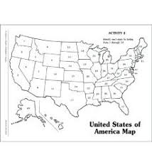 Printable States Printable Map Of The United States Numbered Blank