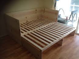 Fold Out Sofa Bed Full Size Pull Out Sofa Bed Built By Handy Harry Pinterest Solsta