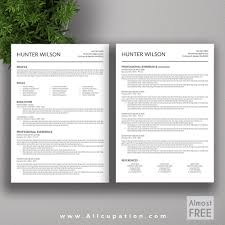 Modern Cv Template Word Free Download Good Design Free Modern Resume