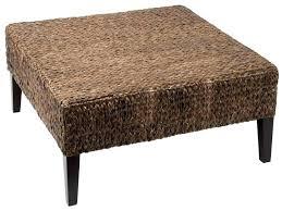 wicker bedside table