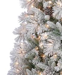 Christmas Trees 12 Foot Artificial  Christmas Lights DecorationSlim Flocked Christmas Trees Artificial