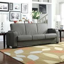 handy living convert a couch grey microfiber futon sleeper sofa sofas bed furniture and malibu