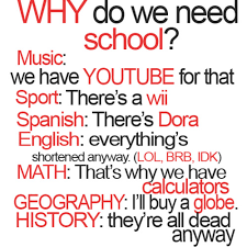 Funny Quotes Tumblr Why Do We School : Entertainment From world