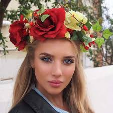 Russian woman take look