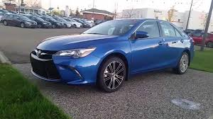 toyota camry 2016 special edition. 2016 toyota camry se special edition in 08t7 blue streak metallic walkaround and review youtube i