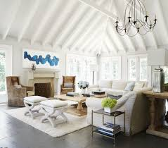 decorating ideas for high vaulted ceilings awesome chicago area home with chic cottage style of decorating